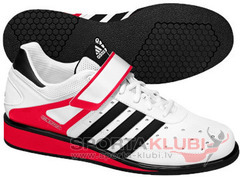 Weightlifting shoes POWER PERFECT II RUNWHT/BLACK1/RADRED (G17563)