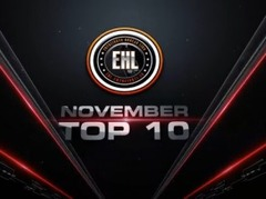 Video: EHL novembra mēneša TOP10