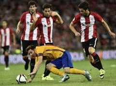 ''Athletic'' iesit no centra un ar 4:0 piesmej ''Barcelona''