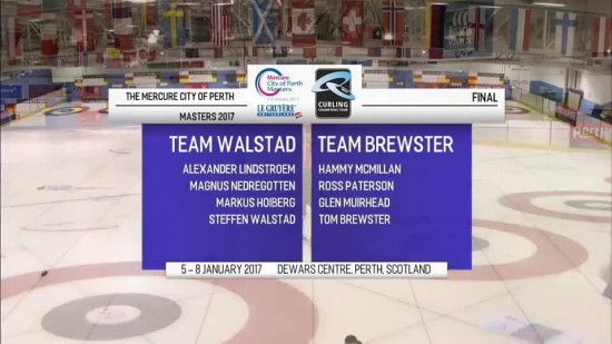 Video: 08.01.2017 Curling Champions tour Perth masters 2017. Fināls