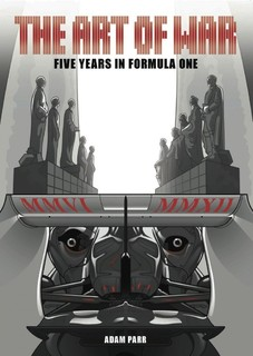 Komiksu grāmata par F1:  The Art of War - Five Years in Formula One