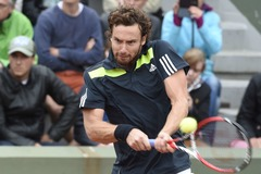 French Open 2.kārta. Bagnis - Gulbis 2-6, 4-3 (rit 2.sets)