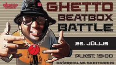 Bītboksa meistari sacentīsies «Ghetto Beatbox battle»