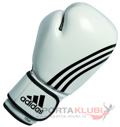 Box-Fit Boxing Glove, white/black (ADIBL04/A-W/BLACK)