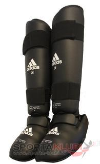 WKF Shin&Removable Instep Pad black (661.35-BLACK)