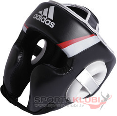 Training Headguard, black/red/white (ADIBHG022)