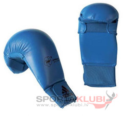 "WKF Karate Mitt ""Bigger"" blue (661.22-BLUE)"