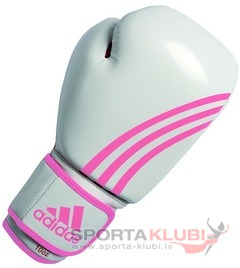 Box-Fit Boxing Glove, white/pink (ADIBL04/A-W/PINK)