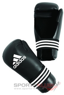 Semi Contact Gloves, black (ADIBFC01-BLACK)