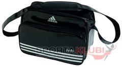 Soma Carry Bag - Black Shiny PU with Judo Printing (ADIACC110CS-JUDO)