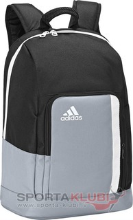 Football BackpackTIRO BP BLACK/SILVER/WHT (Z35678)