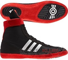 Wrestling shoes combat speed.4 BLACK1/RUNWHT/VIVRED (G96428)