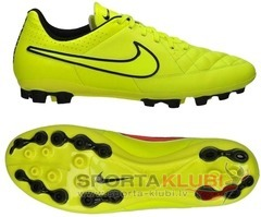Kids football boots Tiempo Genio Leather AG Junior (631617-770)