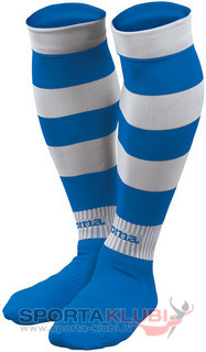 ZEBRA FOOTBALL SOCKS (PACK 5) ROYAL-WHITE (ZEBRA 113)