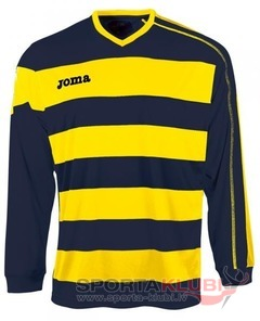 EUROPA L/S SHIRT YELLOW-NAVY (1160.99.005)