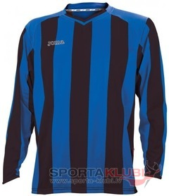 CAMISETA PISA CLASIC M/LARGA NEGRO-ROYAL (1066.99.008)