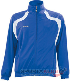 CHAQUETA CHAMPION POLI-TRICOT ROYAL-BLANCO (3005J09.35)