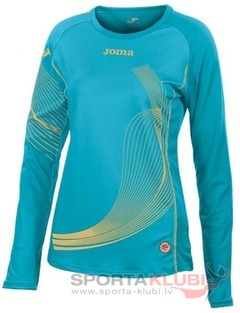 CAMISETA ELITE II WOMAN TURQUESA M/L (1101.22.2021)