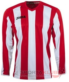 PISA 10 L/S SHIRT RED-WHITE (1165.99.002)