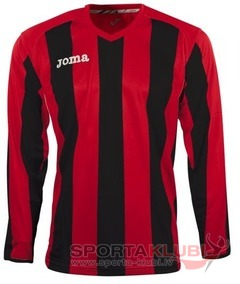PISA 10 L/S SHIRT RED-BLACK (1165.99.009)