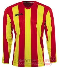 PISA 10 L/S SHIRT RED-YELLOW (1165.99.010)