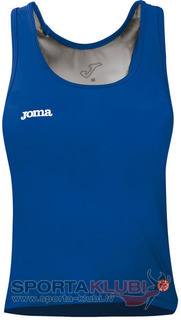 WOMEN SLEEVELESS BLUE SHIRT (CAR.W8M72.35)