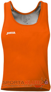 WOMEN SLEEVELESS ORANGE SHIRT (CAR.W8M72.80)