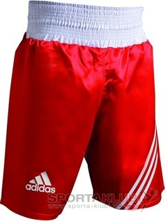"Boxing Shorts ""MULTI"" Boxing Short RED/WHITE (ADISMB02)"