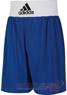 Boxing shorts Base Punch ShoM Blue/white (V14111)