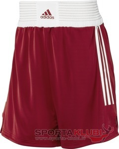 BOX SHORTS M UNIRED/WHT/DKORAN (X12346)