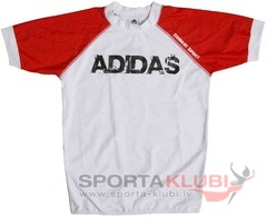 Krekliņš Adidas Rashguard Shirt Shark Black/Red (ADICST06)
