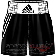 Boxing shorts Base Punch ShoM BLACK/WHITE (V14109)