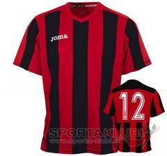 PISA 10 S/S SHIRT RED-BLACK (1165.98.009)