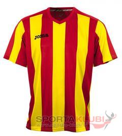 PISA 10 S/S SHIRT RED-YELLOW (1165.98.010)