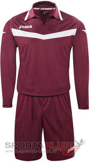 AREA II GOALKEEPER SET L/S BURGUNDY+SHORT (1155.99.002)