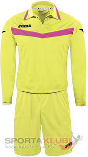 AREA II GOALKEEPER SET L/S LIME+SHORT (1155.99.005)