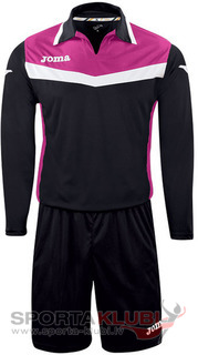 AREA II GOALKEEPER SET L/S BLACK-PINK+SHORT (1155.99.007)