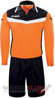 AREA II GOALKEEPER SET L/S ORANGE-BLACK+SHORT (1155.99.008)