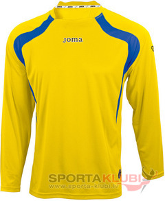 CAMISETA CHAMPION AMARILLO-ROYAL M/L (1130.99.004)