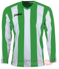 PISA 10 L/S SHIRT GREEN-WHITE (1165.99.011)