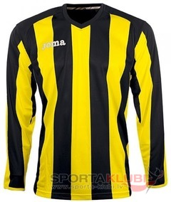 PISA 10 L/S SHIRT BLACK-YELLOW (1165.99.012)