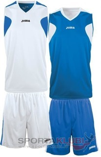 SET BASKET REVERSIBLE BCO-ROYAL JERSEY+SHORT (1184.002)