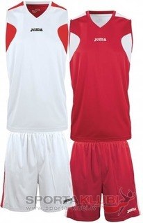 SET BASKET REVERSIBLE BCO-ROJO JERSEY+SHORT (1184.003)
