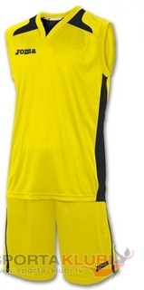 SET CANCHA AMARILLO JERSEY+SHORT (1184.12.019)