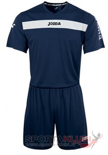 SET ACADEMY MARN-BCO JERSEY M/C+SHORT (KIT1.981.02)