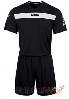 SET ACADEMY NGR-BCO JERSEY M/C+SHORT (KIT1.981.04)