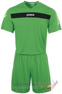 ACADEMY S/S SET (SHIRT+SHORT) GREEN (KIT1.981.05)