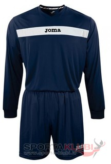 SET ACADEMY MARN-BCO JERSEY M/L+SHORT (KIT1.991.02)