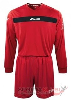 SET ACADEMY ROJO-NGR JERSEY M/L+SHORT (KIT1.991.07)