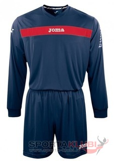 SET ACADEMY MARN-ROJO JERSEY M/L+SHORT (KIT1.991.09)